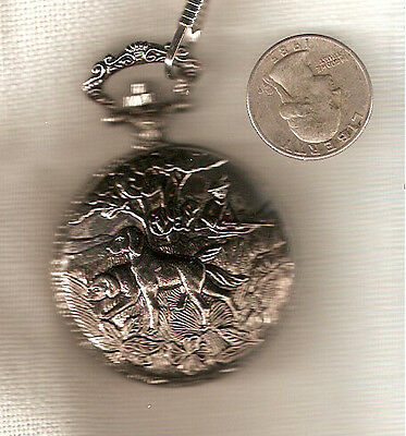 Irish Setter or English Setter Hunter Pocket Watch