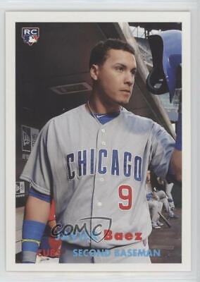 2015 Topps Archives 16 Javier Baez Chicago Cubs Rc Rookie Baseball Card
