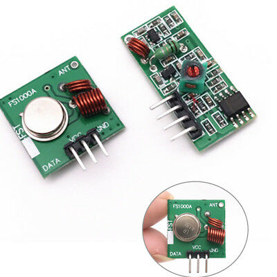 New  433Mhz RF transmitter and receiver link kit for Arduino/ARM/MCU WL