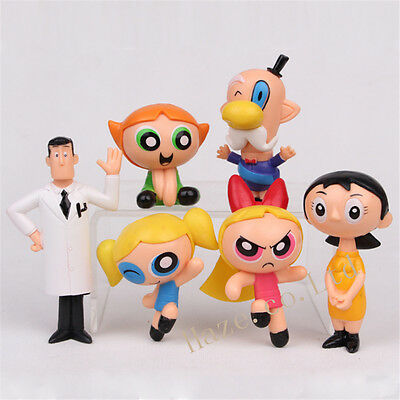 The Powerpuff Girls Cartoon Network PVC Mini Figure