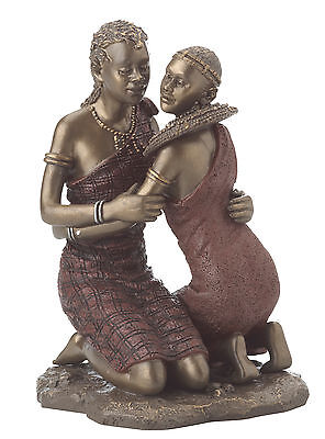 Maasai Tribes... Figure - A Tender Moment #18179 new in box