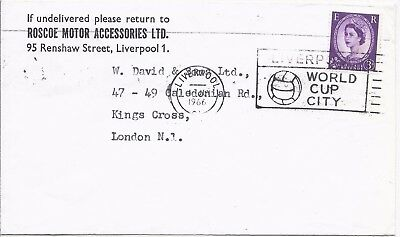 GB 1966 Football World Cup Liverpool slogan cover