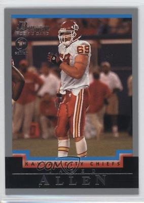 2004 Bowman 1st Edition #223 Jared Allen Kansas City Chiefs Rookie Football Card