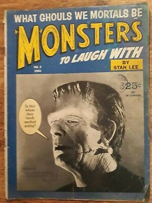 Monsters to laugh with Magazine # 3...Stan Lee 1965
