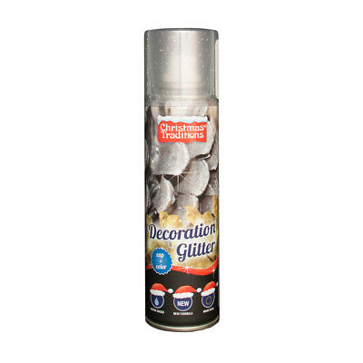 Bomboletta Spray Glitter Argento 100 Ml