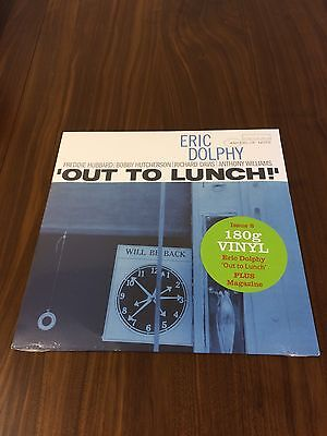 DeAGOSTINI - JAZZ AT 33 1/3 - VINYL ALBUM - ERIC DOLPHY - OUT TO LUNCH!