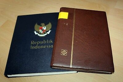 L Indonesia 1951 to 1979: Fantastic MNH collection + extra album with material