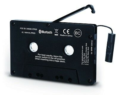 ION Audio Bluetooth Cassette Adapter Bluetooth Audio Streaming for Player NEW