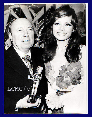 Fotografia Press Photo 1973 Pascale Petit Premia Marcel Carne' Cinema Regista
