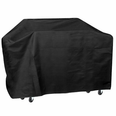 75'' Wide Waterproof BBQ Cover Gas Barbecue Grill Protection Black PK O9J8