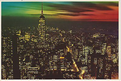 New York City Looking South, Night. Mike Roberts Photo. Oakland, CA. Circa 1990