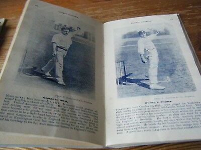 1903  Original Cricket Book - P.f. Warners English Team  ( With  Replaced Cover