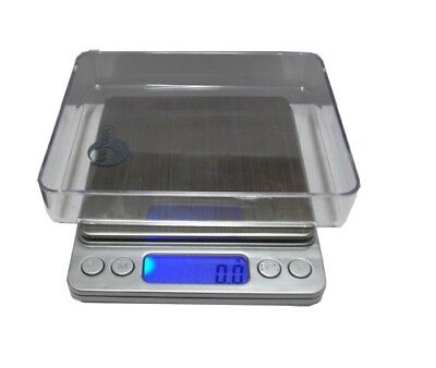 Digital Electric Scale 2000G, 2Kg, 0.1 Gram + Pan Tray & Lcd Weighing Scales