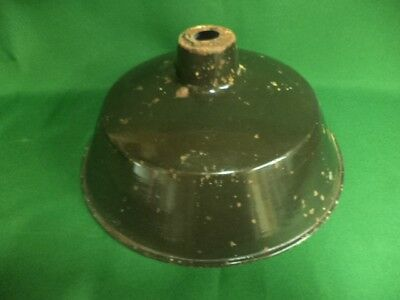Vintage French Metal Ceiling Light Pendant Shade Industrial Chic