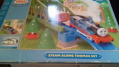 Thomas and Friends trackmaster Steam along Thomad track  (no train)
