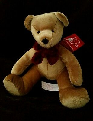 NWT Russ Berrie Teddy Bear 4616 RAZZLES Gold Plush Bears from the Past
