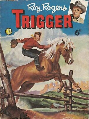 Trigger Number 1? Pemberton/ World Distributors .mid 1950's. Western. Roy Rogers
