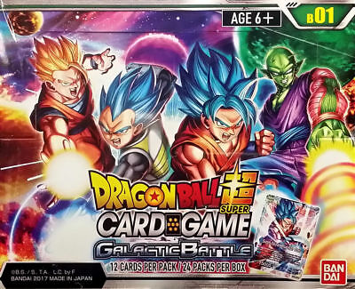 Dragon Ball Super Booster Box - Galactic Battle - Factory Sealed