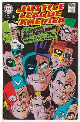 Justice League of America (Vol 1) #  61 (VryFn Minus-) (VFN-)  RS003 AMERICAN