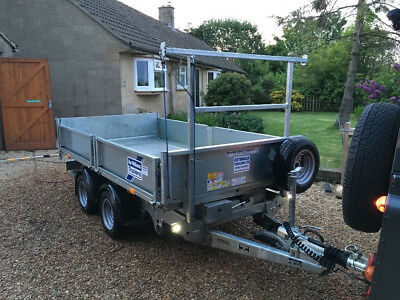Ifor Williams tippingplant trailer