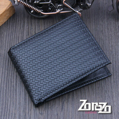 Ulrica Men Bifold Business Leather Wallet  ID Credit Card Holder  Purse Pockets