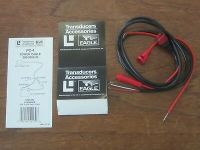 Lowrance  Power Cable-4     P# 988-0127-00