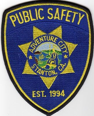 ADVENTURE CITY PUBLIC SAFETY patch - CALIFORNIA