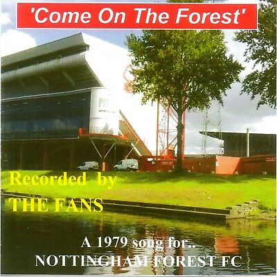 Nottingham Forest FC 1979 song 'Come On The Forest' by the Fans on CD