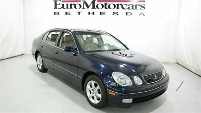 2004 Lexus GS 4dr Sedan 2004 lexus gs 300 sedan used leather automatic 3.0l v6 blue onyx