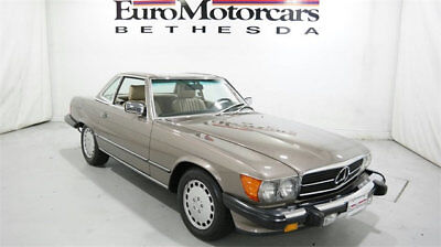 1989 Mercedes-Benz 500-Series 560SL 560SL 1989 mercedes benz 560 sl r107 low miles mint condition convertible used c