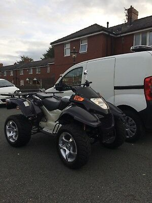2017 Quad GS MOON XYST 260cc needs road registering to put road legal 15 miles