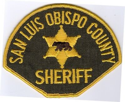 SAN LUIS OBISPO County SHERIFF patch - CALIFORNIA