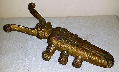 Antique Cast Iron Metal Beetle Boot Jack