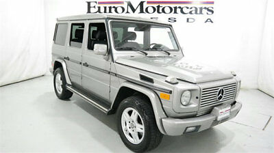 2003 Mercedes-Benz G-Class G500 2003 mercedes benz 04 g500 5.0l v8 g-wagon suv used awd pewter automatic g-class