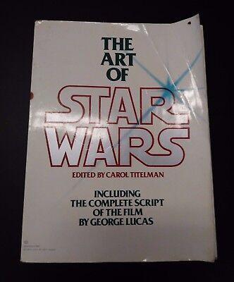 Vintage First Edition 11/1979 The Art of Star Wars Book