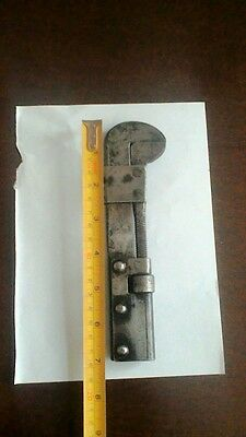 "Vintage rare abbirko adjustable  wrench tool suit Car kit 7""inches long"