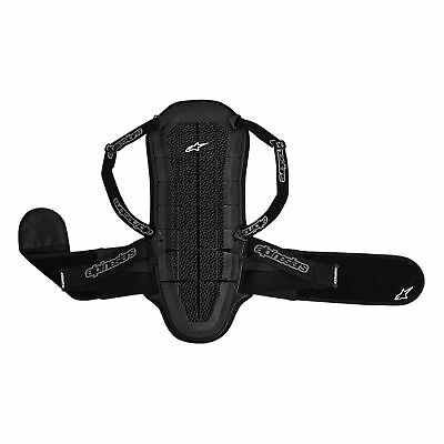 Alpinestars Motorbike Motocross Body Armour Bionic Back Protector Black - XL