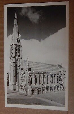 Postcard Maynooth Catholic Seminary Chapel Co Kildare Ireland Real Photo unpost