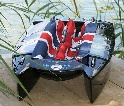 Angling Technics Microcat Baitboat Wright Tackle Union Jack Hopper Drapes