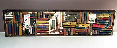 Wood Framed Shotgun Shell Collage w/related pictures