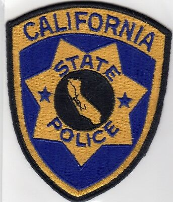 Vintage STATE POLICE patch - CALIFORNIA