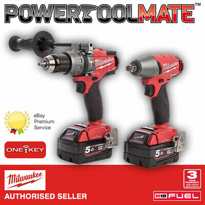 Milwaukee M18ONEPP2B-502X One-Key Fuel Pack - Percussion Drill / Impact Wrench