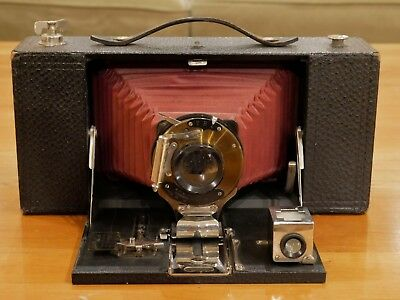 Kodak No. 3-A Folding Brownie Camera Model A - Red Bellows 1909-1913