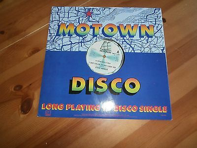 """Stevie Wonder  – I Just Called To Say I Love You - TMGT 1349, MOTOWN -12"""",VINYL"""