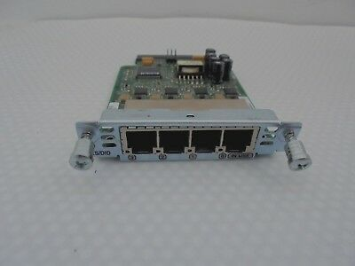 Cisco VIC 4FXS/DID . CCNA, CCNP. card, interface, module