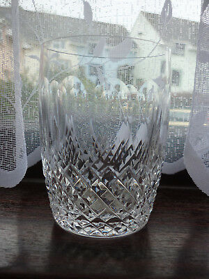 Waterford Hand Cut Crystal, Colleen Pattern 12 oz. Tumbler Glass