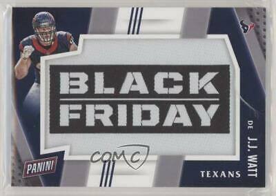 2016 Panini Black Friday Football Manufactured Patch #6 JJ Watt Houston Texans