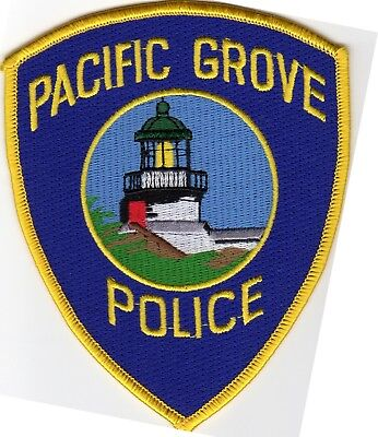 PACIFIC GROVE POLICE patch - CALIFORNIA