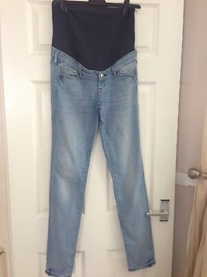 H&M Over The Bump Jeans Size 12