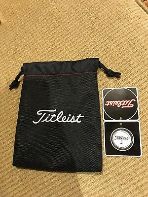 Titleist Tour Pouch 917 And Ball Marker Brand New Scotty Cameron